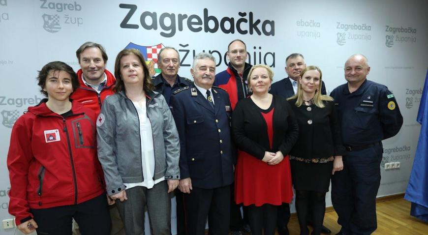 Za snage civilne zaštite Zagrebačka županija osigurala 4,2 milijuna kuna