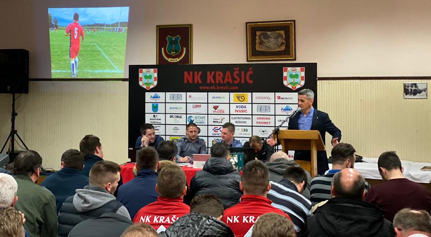 NK Krašić je s pravom ponosan na postavljenu LED rasvjetu