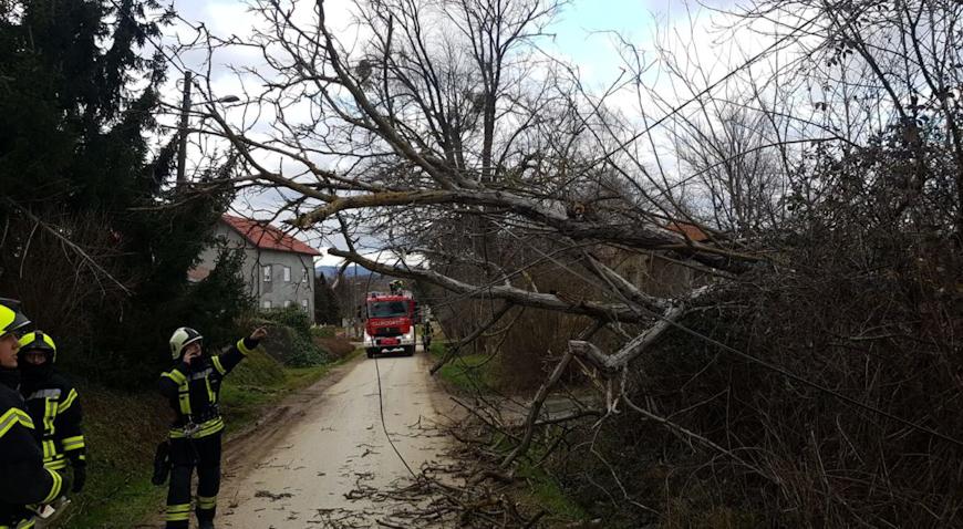 FOTO: Pune ruke posla za vatrogasce Blaževdola