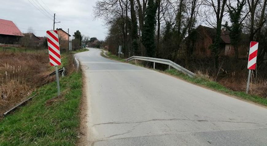 Do kraja godine sigurnije prometovanje mostom na županijskoj cesti u Posavskim Bregima