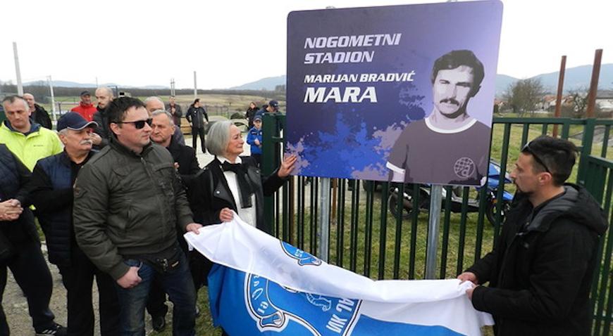 Stadion u Jastrebarskom nosi ime po legendi Marijanu Bradviću-Mari