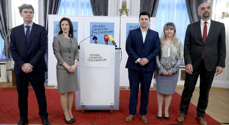 Stranka s Imenom i Prezimenom: Spremni smo nestati iz politike kada provedemo reformske zahvate