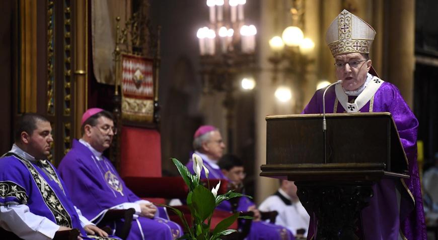Zagrebačka nadbiskupija dala upute za liturgijska slavlja