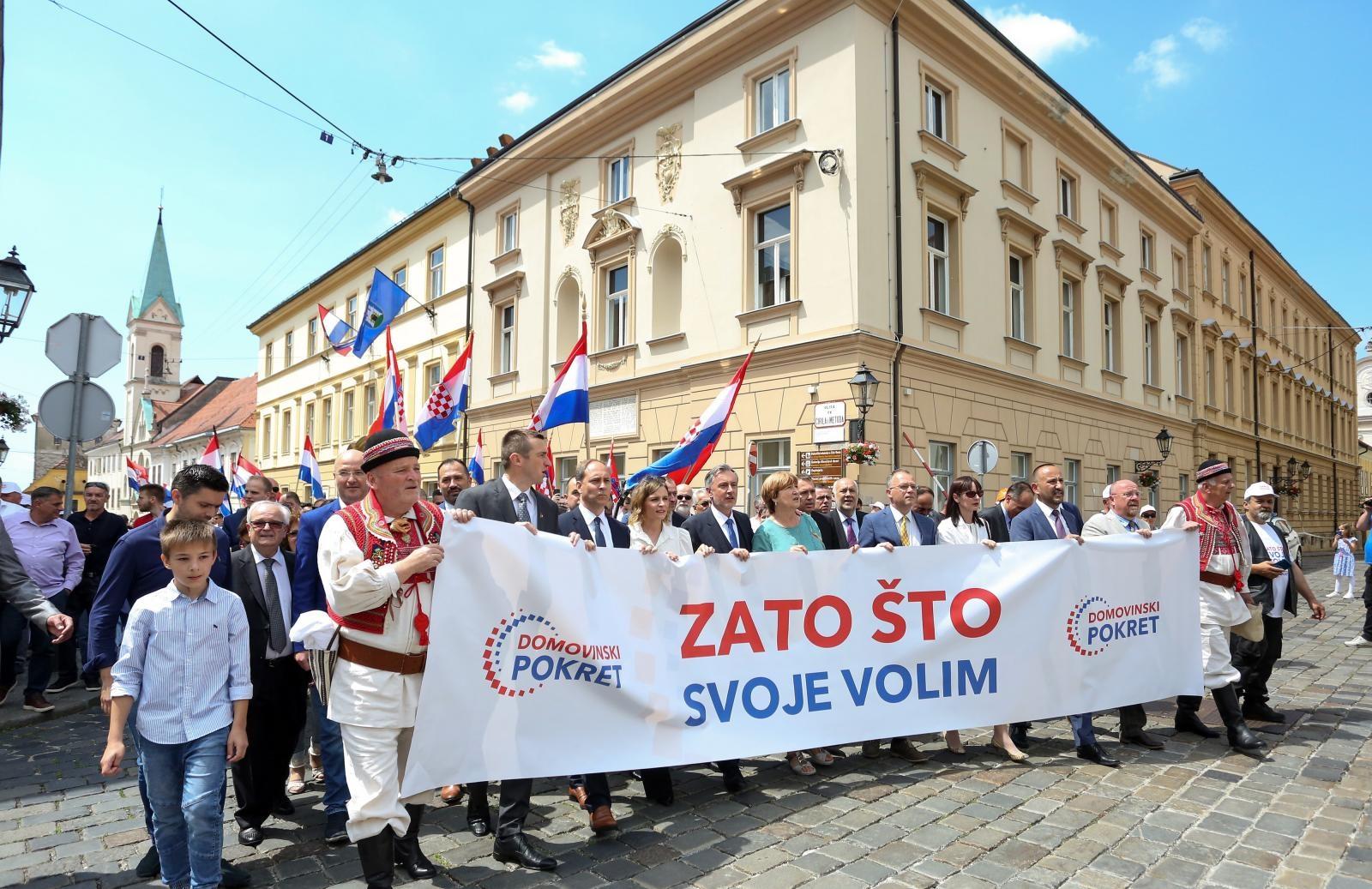 Miroslav Škoro u pratnji tamburaša predao izborne liste » 01Portal ...