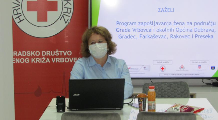 Pri završetku uspješan projekt Zaželi Gradskog društva Crvenog križa Vrbovec